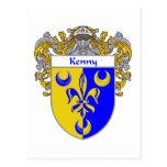 Escudo de armas de Kenny (cubierto) Postal