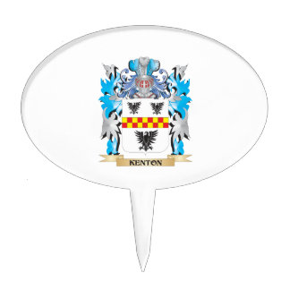 Escudo de armas de Kenton - escudo de la familia Decoración Para Tarta
