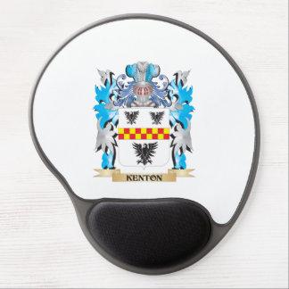 Escudo de armas de Kenton - escudo de la familia Alfombrillas De Ratón Con Gel