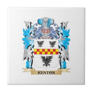 Escudo de armas de Kenton - escudo de la familia Teja Ceramica