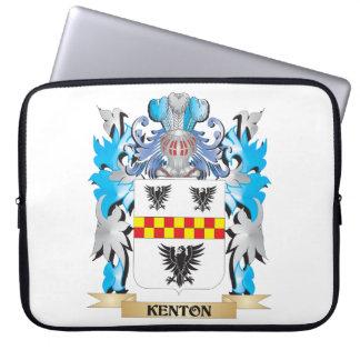 Escudo de armas de Kenton - escudo de la familia Fundas Computadoras