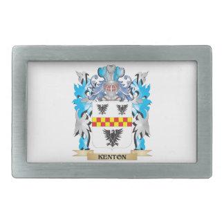 Escudo de armas de Kenton - escudo de la familia Hebilla Cinturon Rectangular