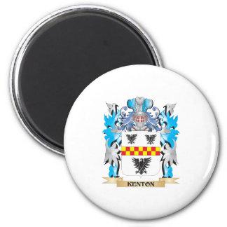 Escudo de armas de Kenton - escudo de la familia Imanes De Nevera