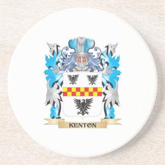 Escudo de armas de Kenton - escudo de la familia Posavasos Personalizados