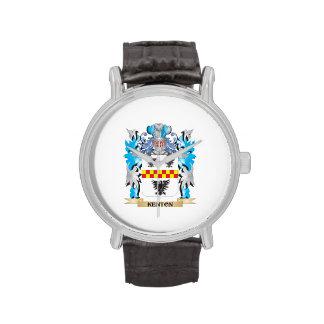 Escudo de armas de Kenton - escudo de la familia Relojes