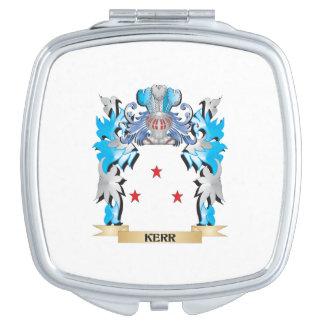 Escudo de armas de Kerr - escudo de la familia Espejos Compactos