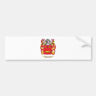 Escudo de armas de Kerrigan (escudo de la familia) Etiqueta De Parachoque