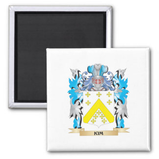 Escudo de armas de Kim - escudo de la familia Imán