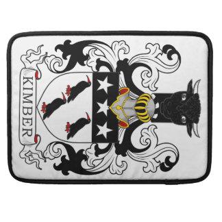 Escudo de armas de Kimber Fundas Para Macbook Pro