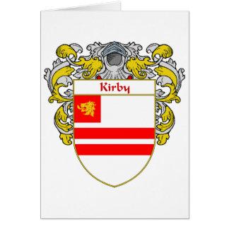 Escudo de armas de Kirby (cubierto) Tarjeta De Felicitación