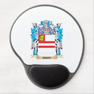 Escudo de armas de Kirby- - escudo de la familia Alfombrilla De Ratón Con Gel