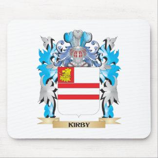 Escudo de armas de Kirby- - escudo de la familia Tapetes De Ratones