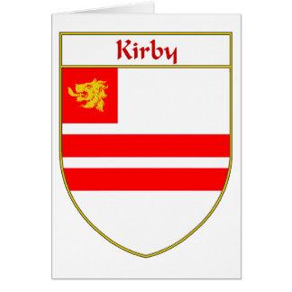 Escudo de armas de Kirby/escudo de la familia Tarjeta De Felicitación