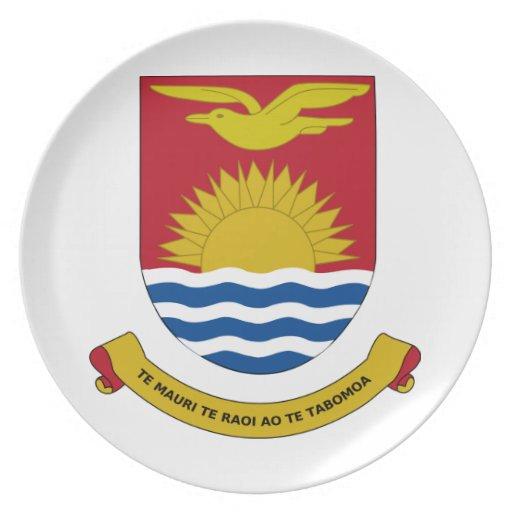 Escudo de armas de Kiribati Plato