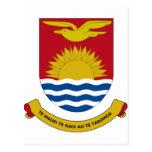 Escudo de armas de Kiribati Postal