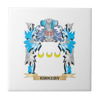 Escudo de armas de Kirkeby - escudo de la familia Tejas Ceramicas