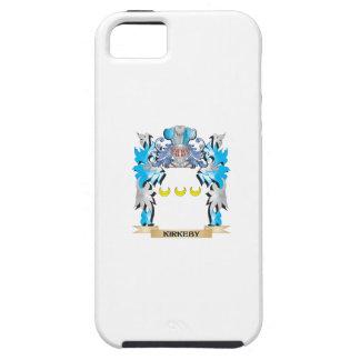 Escudo de armas de Kirkeby - escudo de la familia iPhone 5 Case-Mate Protector
