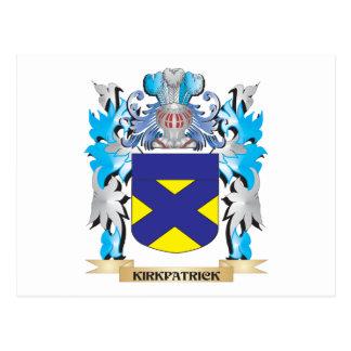 Escudo de armas de Kirkpatrick - escudo de la Tarjetas Postales