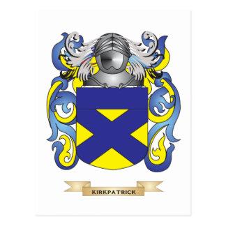 Escudo de armas de Kirkpatrick (escudo de la Postales