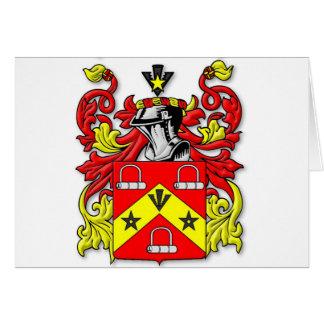 Escudo de armas de Kirkwood Tarjeta De Felicitación