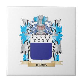 Escudo de armas de Klais - escudo de la familia Azulejos Cerámicos