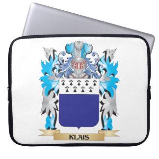 Escudo de armas de Klais - escudo de la familia Fundas Computadoras