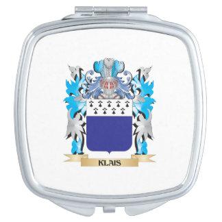 Escudo de armas de Klais - escudo de la familia Espejos De Viaje