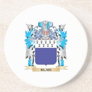 Escudo de armas de Klais - escudo de la familia Posavasos Manualidades