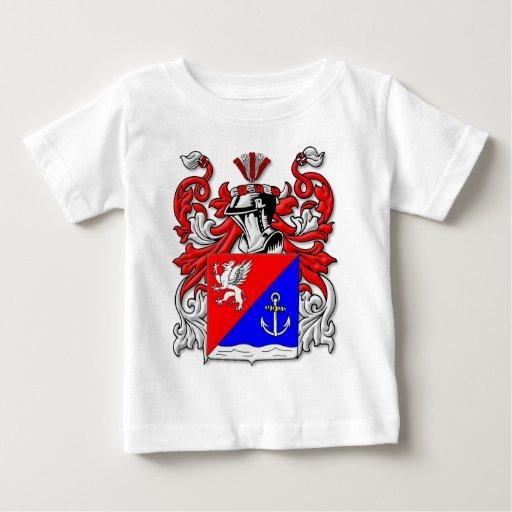 Escudo de armas de Kluge Playera Para Bebé