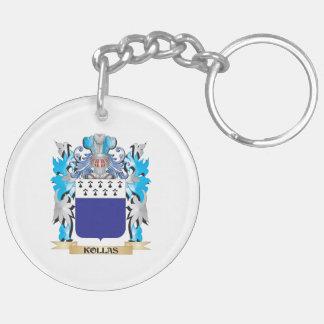 Escudo de armas de Kollas - escudo de la familia Llavero Redondo Acrílico A Doble Cara