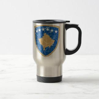 Escudo de armas de Kosovo Taza Térmica