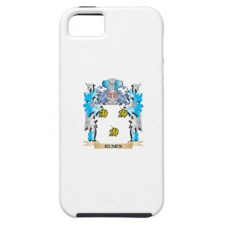 Escudo de armas de Kunes - escudo de la familia iPhone 5 Protector