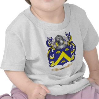 Escudo de armas de la abeja escudo de la familia camiseta