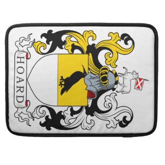 Escudo de armas de la acumulación fundas para macbooks