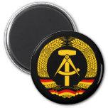 Escudo de armas de la Alemania Oriental/sello del  Imanes De Nevera