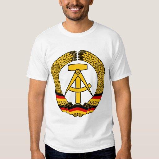 Escudo de armas de la Alemania Oriental/sello del Playeras
