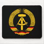 Escudo de armas de la Alemania Oriental/sello del  Alfombrillas De Ratón