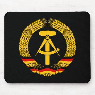 Escudo de armas de la Alemania Oriental sello del Alfombrillas De Ratón