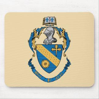 Escudo de armas de la alfa de la phi de la theta mouse pad