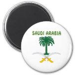Escudo de armas de la ARABIA SAUDITA Iman De Nevera