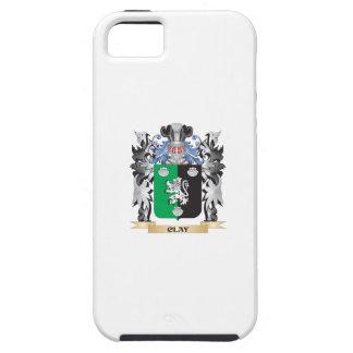 Escudo de armas de la arcilla - escudo de la iPhone 5 carcasas