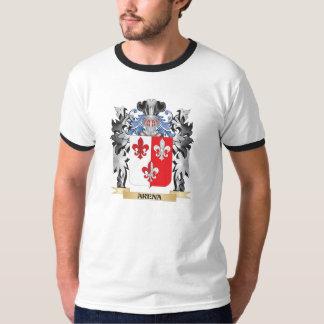 Escudo de armas de la arena - escudo de la familia playera