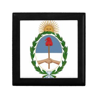 Escudo de armas de la Argentina Caja De Joyas
