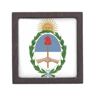 Escudo de armas de la Argentina Cajas De Joyas De Calidad