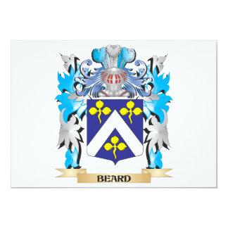 Escudo de armas de la barba comunicados