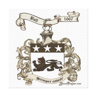 Escudo de armas de la bola de Edward de Branford,  Impresiones En Lona