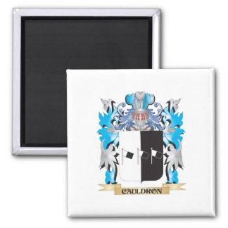 Escudo de armas de la caldera - escudo de la famil