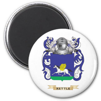 Escudo de armas de la caldera escudo de la famili iman para frigorífico