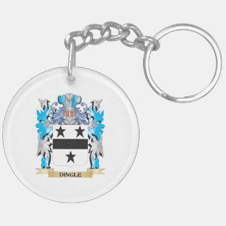 Escudo de armas de la cañada - escudo de la famili llavero