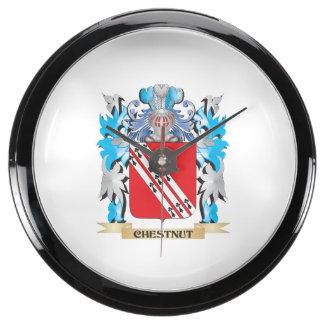 Escudo de armas de la castaña - escudo de la famil relojes aquavista